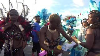 MIAMI WEST INDIAN CARNIVAL 2018 - CARIBBEAN GIRLS DANCE WHINE PARTY AT MIAMI CARNIVAL