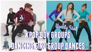 Kpop Boy Groups Dance Girl Group Dances || WEEKLY IDOL EDITON