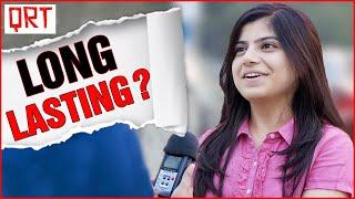 LONG LASTING ? | DIRTY MIND TEST | Double Meaning Questions | Delhi Girls About Boys | QRT