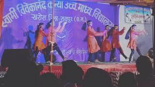 Bhagwa rang  girls dance group kharora jai shree ram ???????????? # chetna sahu# krishna