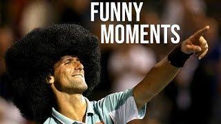 Novak Djokovic - Funniest Moments Ever (Why Ball Boys & Ball Girls Love Him)