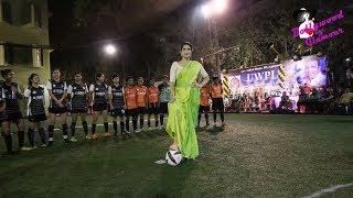 Sagarika Ghatge Promotion Of The Film 'Monsoon Football' At 'Women's Football League'