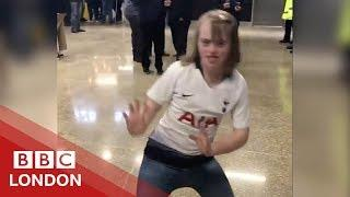 The viral video of a girl trolled for dancing - BBC London