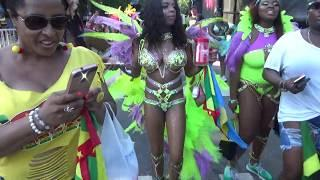 WEST INDIAN CARIBBEAN CARNIVAL BROOKLYN 2018 - CARIBBEAN ISLANDS GIRLS LAST CARNIVAL DANCE PT3
