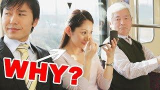 Why Do Japanese Women Do Their Makeup on the Train?