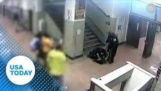 Surveillance video shows Chicago police dragging, hitting girl at school