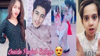 Inside Punjab College Boys Girls TikTok Musically Video Part 38| TikTok Pakistan HD