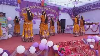 Girls Dance Mata gujri Public School. Amipur Sports Meet Fuction 2018