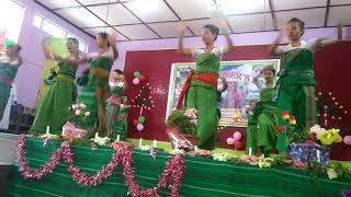 Kamdam dwmg sipung sudwmg // Bodo dance 2018 // Beuatifull girls dance on teacher day program 2018 .