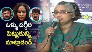 Women Activists Fires On Telugu Film Industry | Sri Reddy | Casting Couch In Tollywood