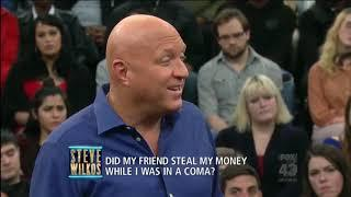 The Steve Wilkos Show A woman in the middle of a bisexual love triangle wants lie detector