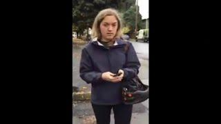 CROSSWALK CATHY White Women Calls Cops On Black Couple For Parking Job