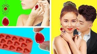 Creative Jewelry for you confidently meet your love! Girl DIY Hacks Changes beautiful Woman in Life
