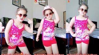 Tenu kala chasma jachda hai || Cute Baby Girl Dance Vigo Musically Video