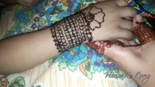 Simple Mehndi Design For Girls Hands HD Video | Latest Mehndi Stylish