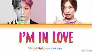BTS JUNGKOOK x Lady Jane - I'm In Love Lyrics (Color Coded Han/Rom/Eng)