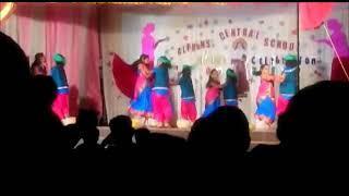 School girls Dance performance