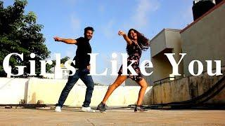 Girls Like You - Maroon 5 ft. Cardi B | Choreography | Dance Video