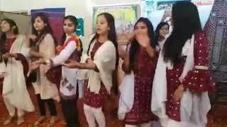 College girl desi dance || Pakistani girls dance on sindhi song