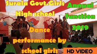 surala Govt. Girls high school girls Dancing performance at school Annual function 2019 ||Odisha||