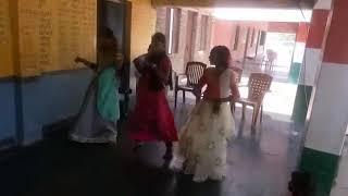 SANIPALLI SCHOOL GIRLS DANCE PERFORMANCE