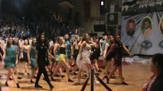 Senior Blue Girls dance
