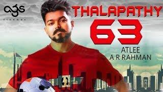 FLASH: Vijay's Thalapathy 63 is based on Women Sports | Nayanthara