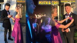FOOTAGE OF MYTH & HIS DATE GIRL DANCING IN PROM DATE! #RIPVCard!! (Fortnite Battle Royale)