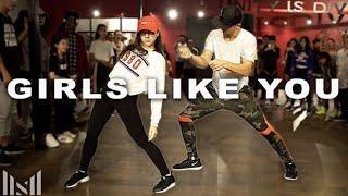 "Kaycee, Matt - ""Girls Like You"" - Maroon 5 Ft. Cardi B (Choreo By Matt Steffanina)"