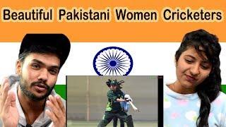 Indian reaction on Beautiful Pakistani Women Cricket Team | Swaggy d