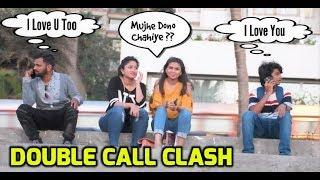 Epic Call Clash Prank On Cute Girls With Twist |Prank In India|The Japes