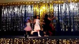Sutton girls Dance at New Year