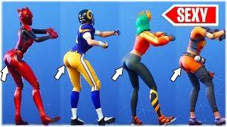 "i FINALLY bought the SEXY ""DAYDREAM"" DANCE EMOTE ... performed with ALL HOT GIRLS ????❤️ fortnite sh"