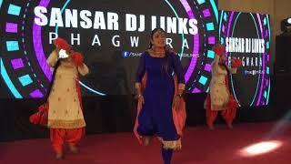 Sansar Dj Links Phagwara | Punjabi Girl Wedding Dance Performance | Wedding Dance Show |