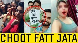 ISME TERA GHATA MERA KUCH NAHI JATA // VIRAL 4 GIRLS IN MUSICALLY - TERA GHATA VIRAL GIRLS REPLY