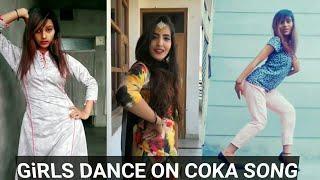 Beautiful Girls Dance on COKA Song| Alankrita Sahai |Jaani |Arvindr Khaira| COKA Dance