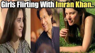 Girls Flirting With Imran Khan | Love For Imran Khan | Great Moin Akhtar Show