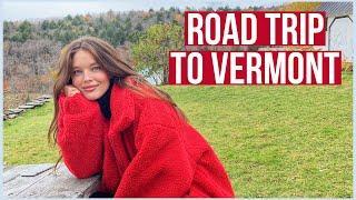 Girls Vermont Weekend Getaway VLOG | Fall Girls Road Trip | Emily DiDonato