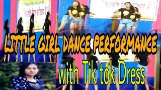 Bodo 12year little girls Dance PERFORMANCE With TikTok dress||Hindi song||GWDAN sinaithy p blog