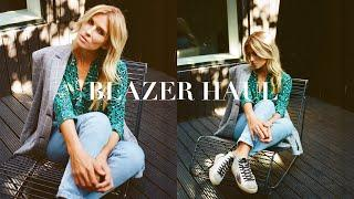 5 BLAZERS FOR WOMEN   OUTFIT IDEAS (2019)