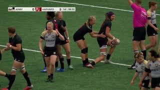 Harvard Women's Rugby vs  Army West Point