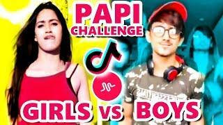 i am PAPI DANCE CHALLENGE ???????? BOYS vs GIRLS???????? on Musical.ly & Tik Tok
