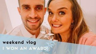 WEEKEND VLOG - I WON AN AWARD & MY BABY GIRL GOT GLASSES