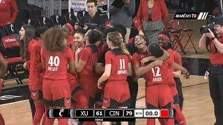 Women's Basketball Highlights: Cincinnati 79, Xavier 61