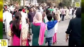 PTI Girls Dance in Islamabad imran khan