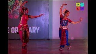 Bharatnatyam Duet Dance by Janaki Devi Memorial College Girls | Pulse 2018