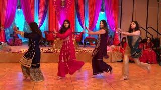 Best Mehndi Dance, Beautiful Girls Dance., 2019