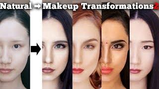 Makeup transformations into beautiful women in their twenties around the world 2 | AmaterasuEVE