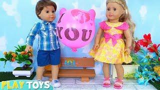 American Girl Dolls Tenney and Logan Love Musical Story!