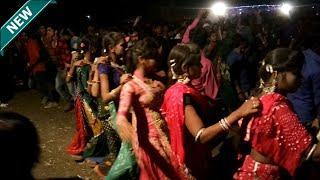 Beautiful Adivasi Girls Dance !! Beautiful Adivasi Timli Dance !! Adivasi Dance !! Part 2 !!